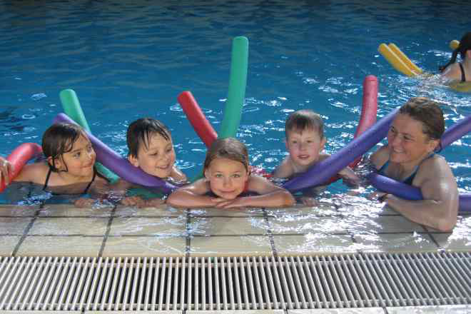 Kinderschwimmkurs Wasserwacht BRK Rosenheim