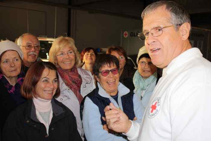 Erste Hilfe für Senioren beim BRK Rosenheim