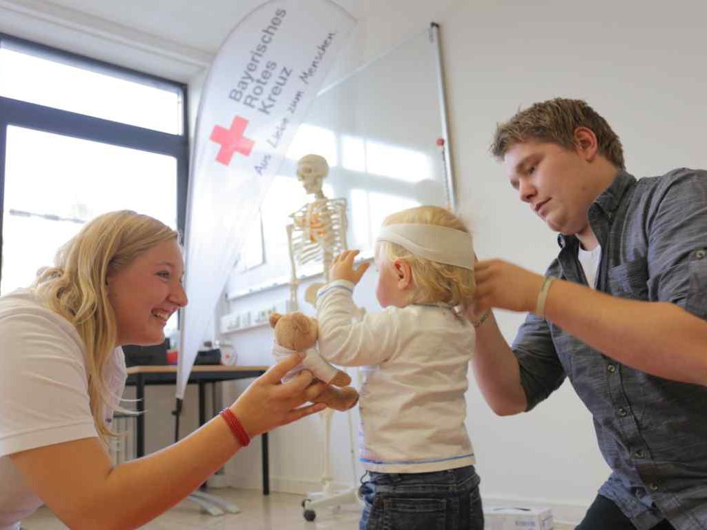 Erste Hilfe im Alltag - Wundversorgung am Kind