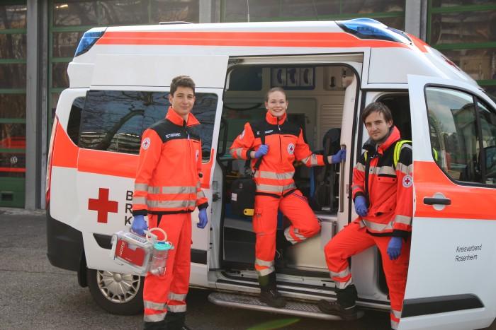 Krankentransport BRK Rosenheim