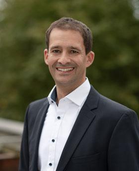 Das Foto zeigt Oberbürgermeister Andreas März