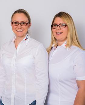 Katharina Steinbeißer und Michaela Stein
