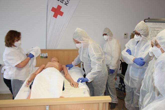 Pflegehelferkurs im BRK Kreisverband Rosenheim