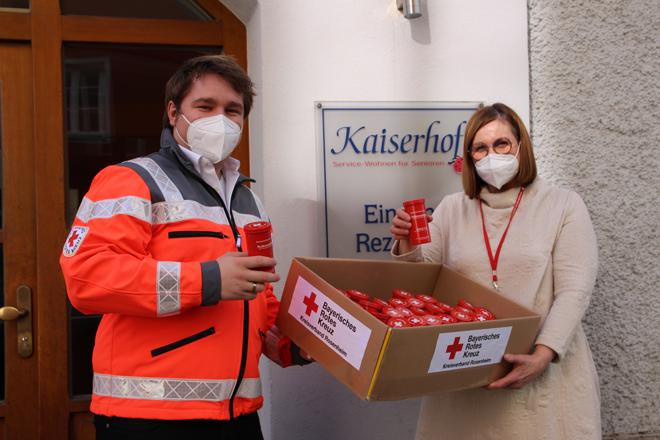 Rotkreuzdosen für Kaiserhof-Bewohner