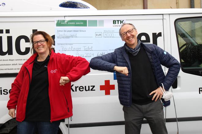 Franz Weiß und Claudia Rieger