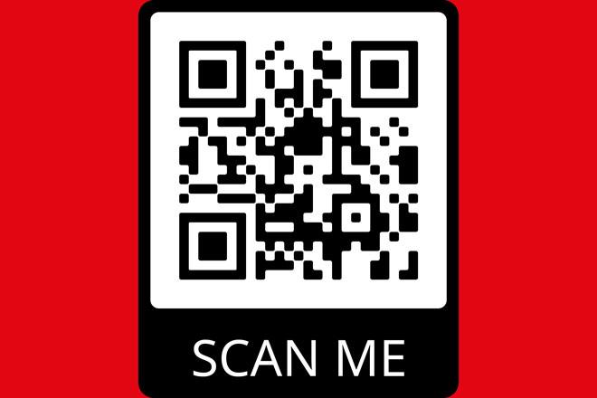 QR Code zum Eingeben der persönlichen Daten für die Testung