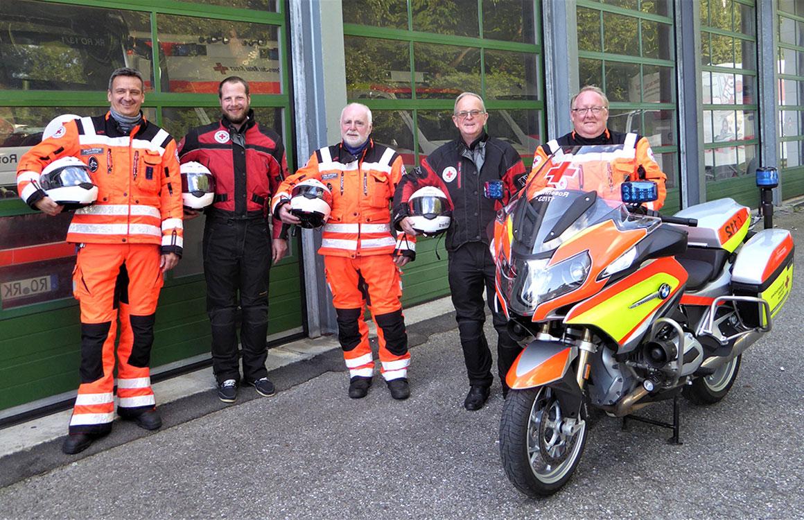 Neues Motorrad für die Motorradstaffel