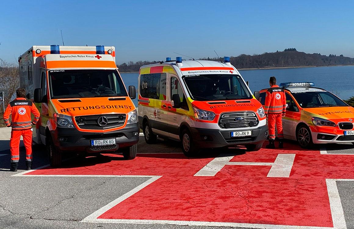 Neue Fahrzeuge im Rettungsdienst