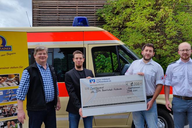 Das Foto zeigt Florian Lechner, Korbinian Lechner, Marcel Abram und Simon Haager