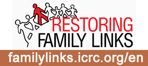 Logo von restoring family links.