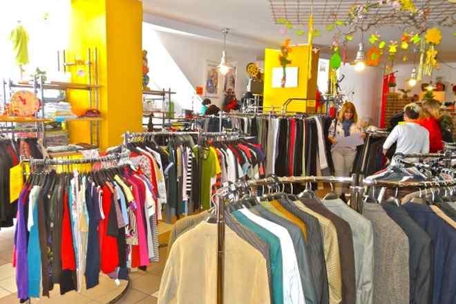 Das umfangreiche Sortiment im Kleiderladen Rosenheim.