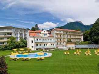 Das Foto zeigt das Hotel Filipinum in Meran